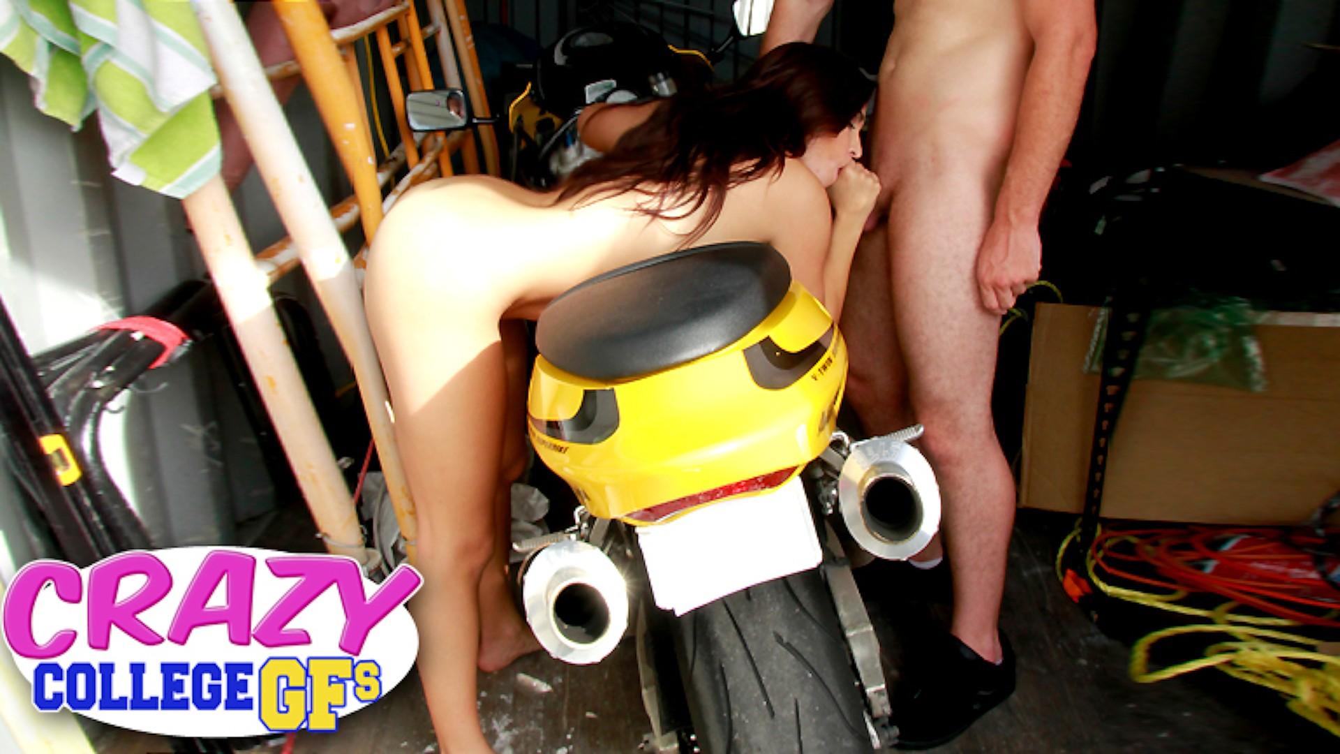 Naked Rider - Crazy College GFs
